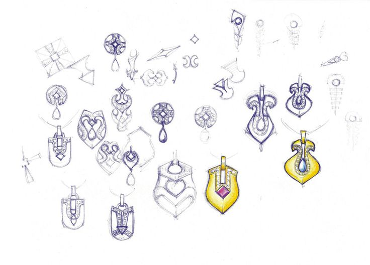 1000+ Images About Jewelry Sketches On Pinterest | Sketching Sketchbooks And Ring Sketch