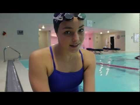 Open water swimming - sighting technique with Keri-anne Payne - YouTube