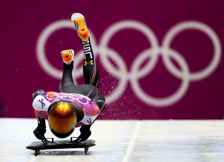 John Daly of the United States starts during the Men's Skeleton heats (c) Getty Images
