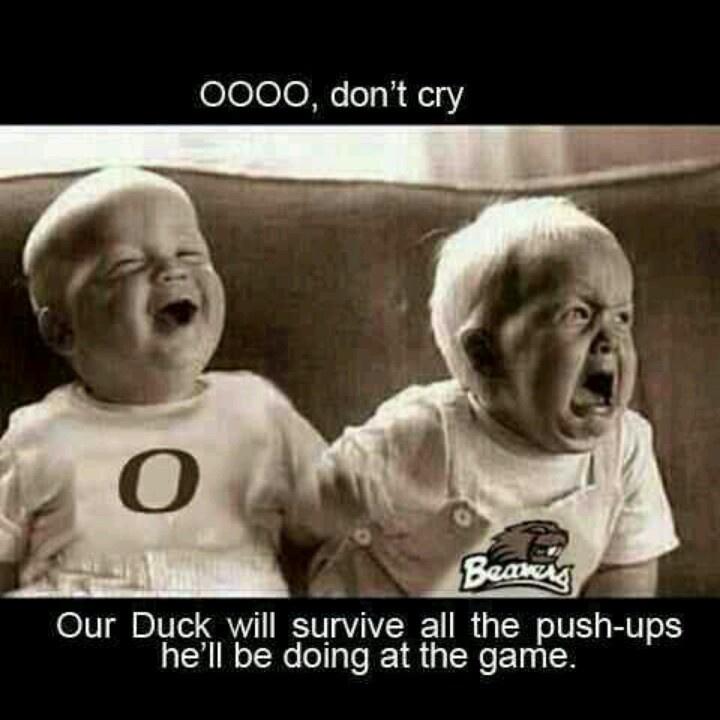 Oregon Ducks. Civil War.