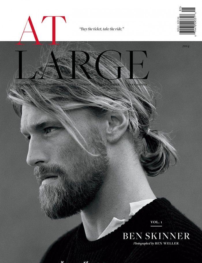 At Large Magazine #1 | Ben Skinner, David Alexander, Jack O'Connell & Luke Grimes  [Fashion]
