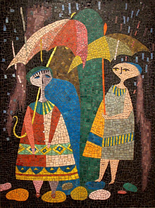 Evelyn Ackerman, Rain, 1955