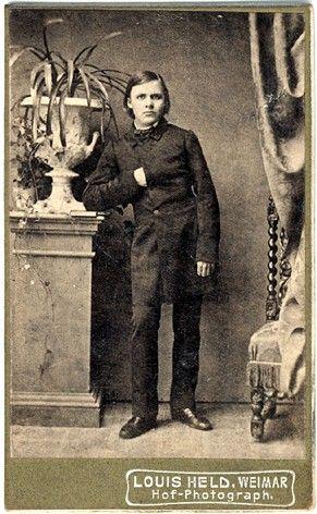 Nietzsche 1861. This Day in History: Oct 15, 1844: German philologist, philosopher, cultural critic, poet and composer, Friedrich Nietzsche, is born.