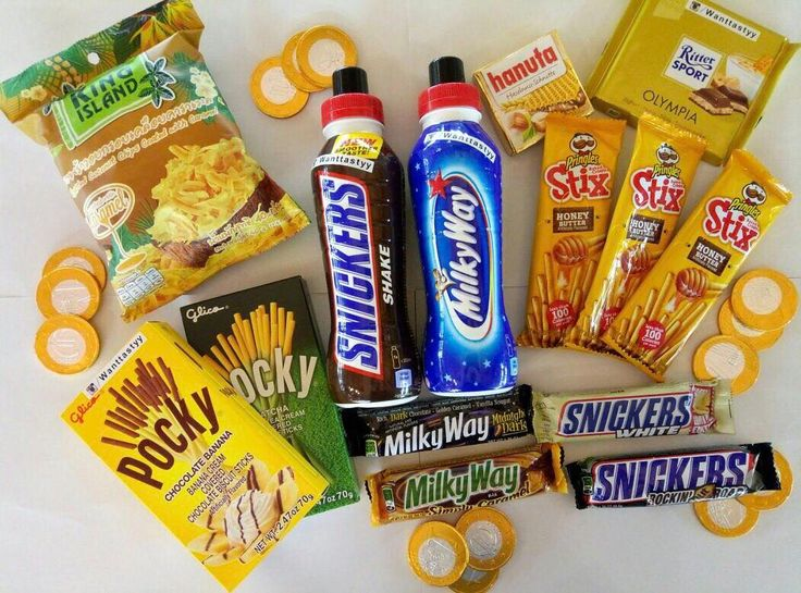 Палочки Pocky 290 Палочки Pringles 79 Напиток Snickers Milky way 299 Кокос чипсы карамель 129 Snickers маршмелло и белый шоколад 199 и 89 Milky Way Dark и caramel 149 и 169 Шоколад Ritter Sport 159 Шоколадные монеты 10 #wanttasty