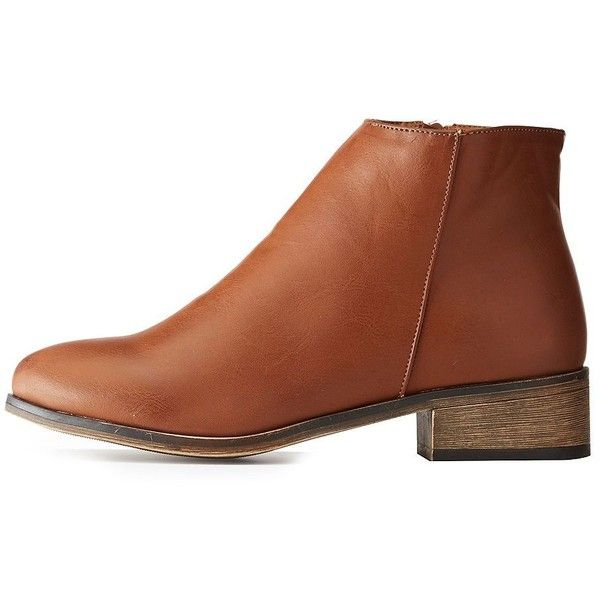 Bamboo Faux Suede Flat Chelsea Booties ($23) ❤ liked on Polyvore featuring shoes, boots, ankle booties, brown, brown chelsea boots, flat chelsea boots, faux suede booties, low ankle booties and brown flat boots