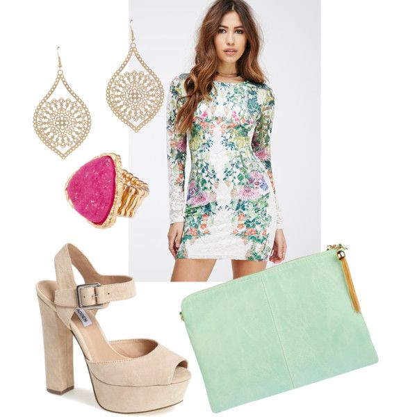 Untitled #151 by serdarsa on Polyvore featuring Forever 21, Steve Madden and ALDO