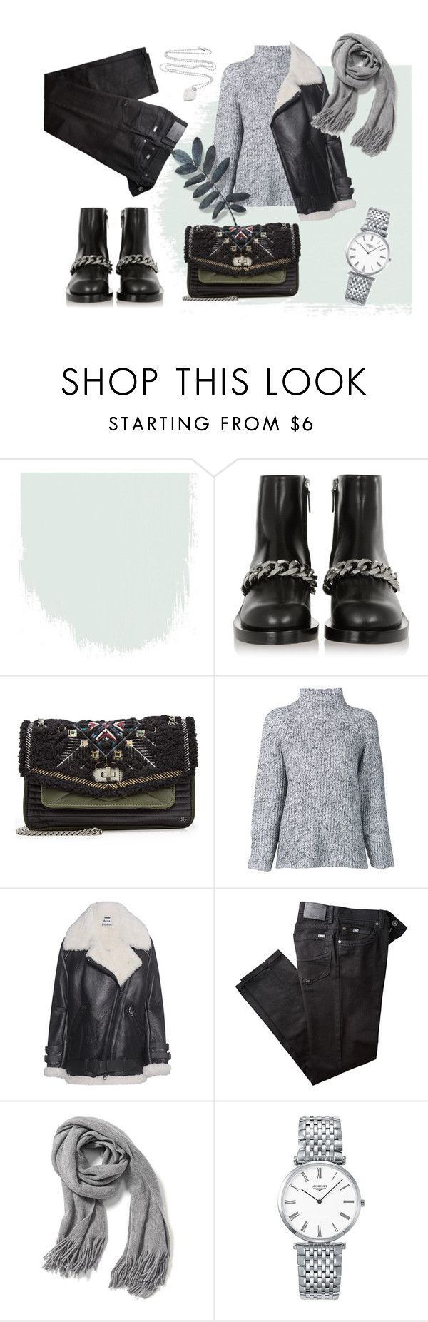 """""""Winter #1"""" by sascha-haarup on Polyvore featuring Givenchy, Zadig & Voltaire, T By Alexander Wang, Acne Studios, BRAX, Old Navy, Longines and Tiffany & Co."""