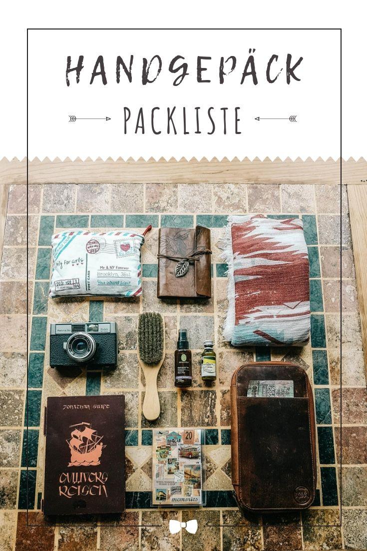 70dc205763a8da Handgepäck - was du nicht vergessen solltest + kostenlose Checkliste ...