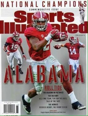 The Alabama Crimson Tide On The Cover Of Sports Illustrated Magazine Again! RTR!