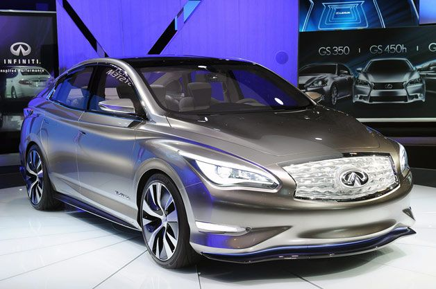 Infiniti LE with Wireless recharge. Nice!