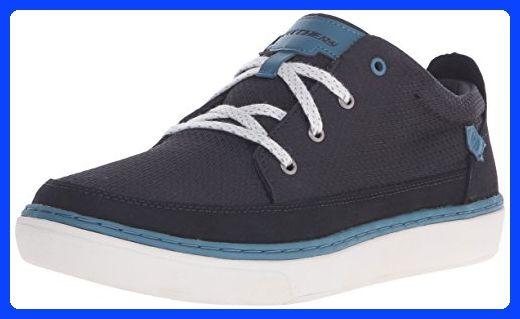Skechers USA Men's Palen Fashion Sneaker, Black, 12 M US