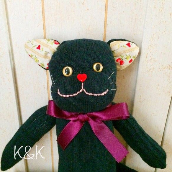 【SOLD OUT】ソックキャット(黒) 男の子 #2