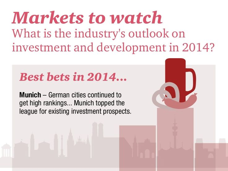 Infographie PwC sur l'immobilier commercial en Europe : Markets to watch (2014). http://pwc.to/1aa2nJd