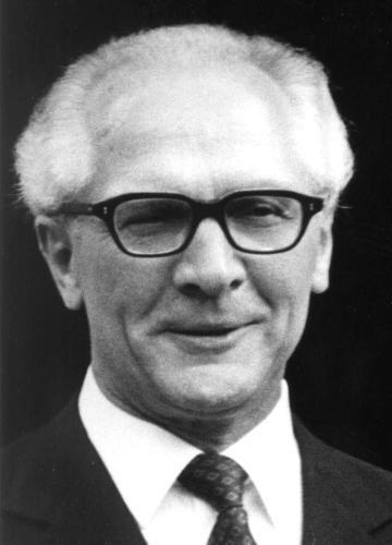 Erich Honecker-General secretary of the GDR from 1971-1989