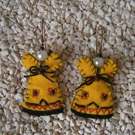 Check out this item in my Etsy shop https://www.etsy.com/listing/506466310/handmade-earrings-felt-dangle-jewelry