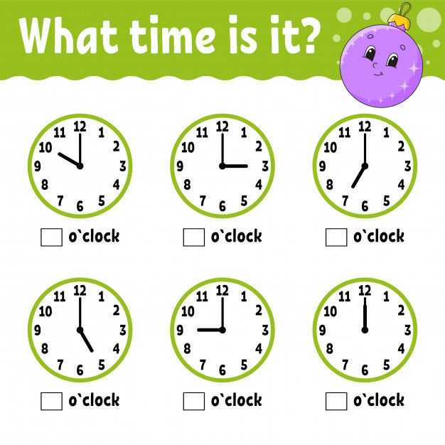 Learning Time On The Clock Educational Activity Worksheet For Kids And Toddlers In 2020 Learning Time Educational Activities Worksheets For Kids