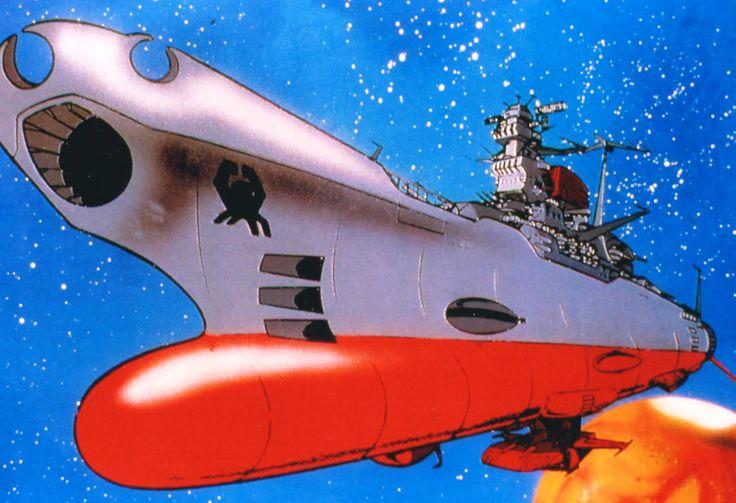 The yamato or argo from star blazers spaceship
