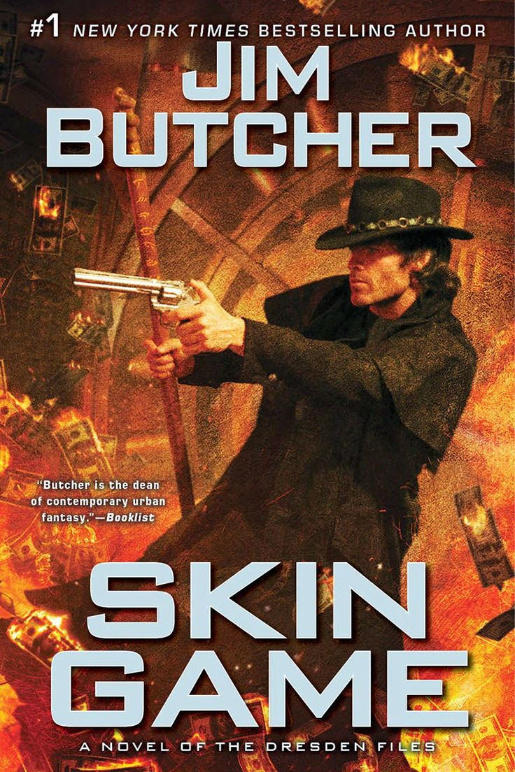 Skin Game (Dresden Files Book 15) Cover and Release Date