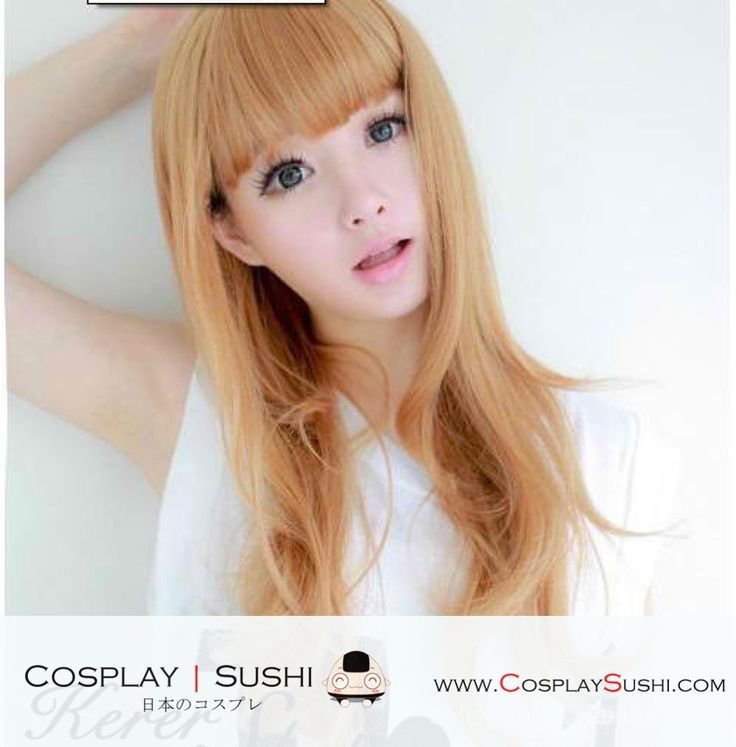 Grab our NEW Ju-Hyun Golden Hair Wig! SHOP NOW ► http://bit.ly/1OkpuTE Follow Cosplay Sushi for more cosplay ideas! #cosplaysushi #cosplay #anime #otaku #cool #cosplayer #cute #kawaii #Soju #hair #hairstyle #wig #Gold #style fashion