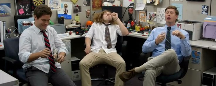 "On the latest episode of ""Workaholics,"" Blake, Adam, Ders and Karl open a burrito shop that also sells weed, called Buweedos."