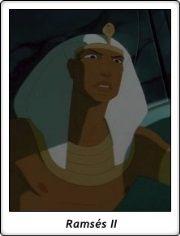 Faraón Ramsés II / Pharao Rameses II / El Príncipe de Egipto / The Prince of Egypt / 1998 / Dreamworks