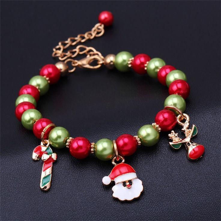 Charm Christmas Bracelet Jesus Pendant
