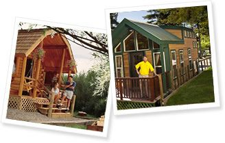 Kabins at the Cherokee KOA--great family site - Been to alot of KOA's this is my favorite!