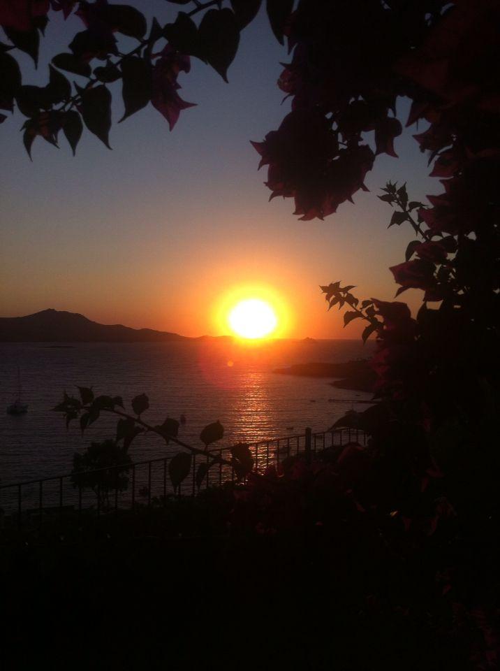 Sunset from Yalıkavak, Bodrum Turkey