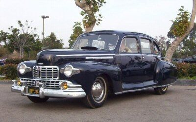 Lincoln Zephyr Sedan Dark Blue To Pinterest