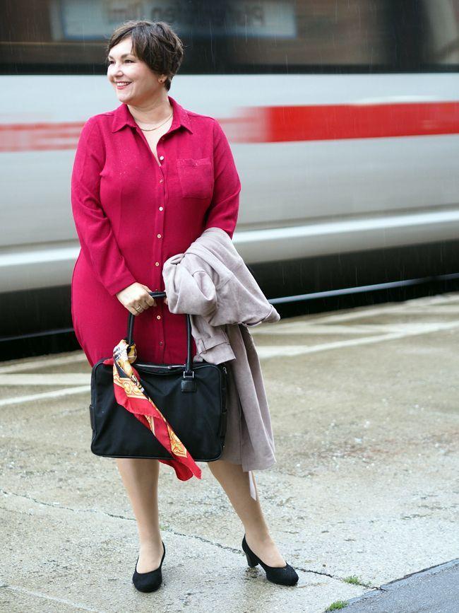 Mode am Mittwoch: Rot im Regen. Und ein bisschen Größenwahn