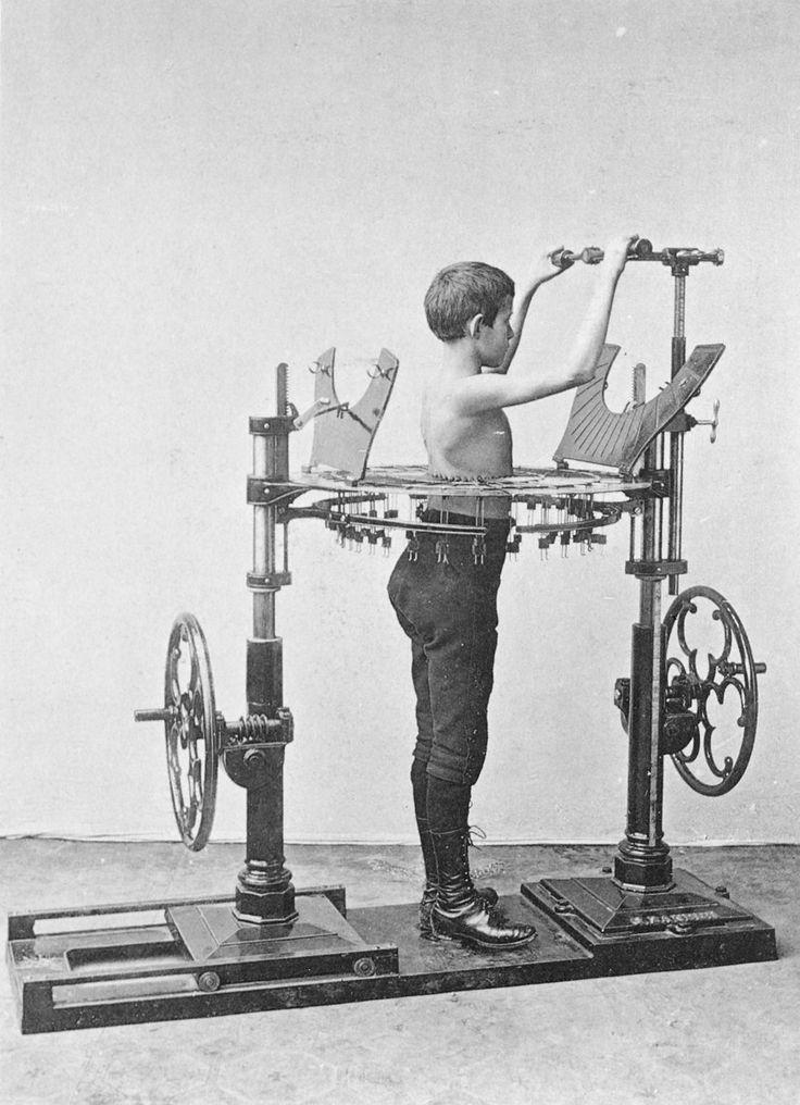 Zanders medico-mechanical gymnastics equipment