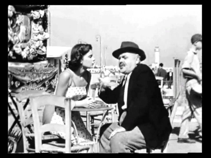 Η Τζένη Καρέζη στην Πάτρα το 1955