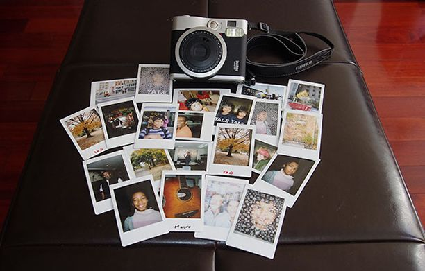 The Fujifilm Instax 90. ... for guestbook