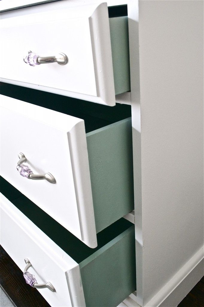 Holz Mit Tapete Bekleben : Pop Color Drawers