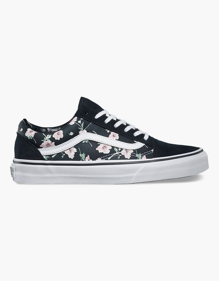 VANS Vintage Floral Old Skool Womens Shoes 261809957 | Sneakers