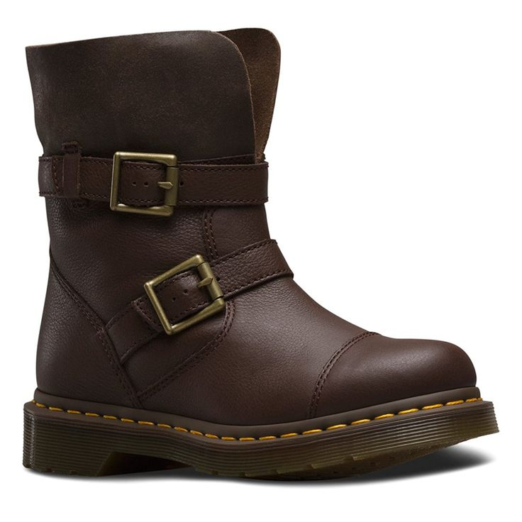Dr. Martens Women's Kristy Slouch Rigger Boot -- You can get more details here : Boots Shoes