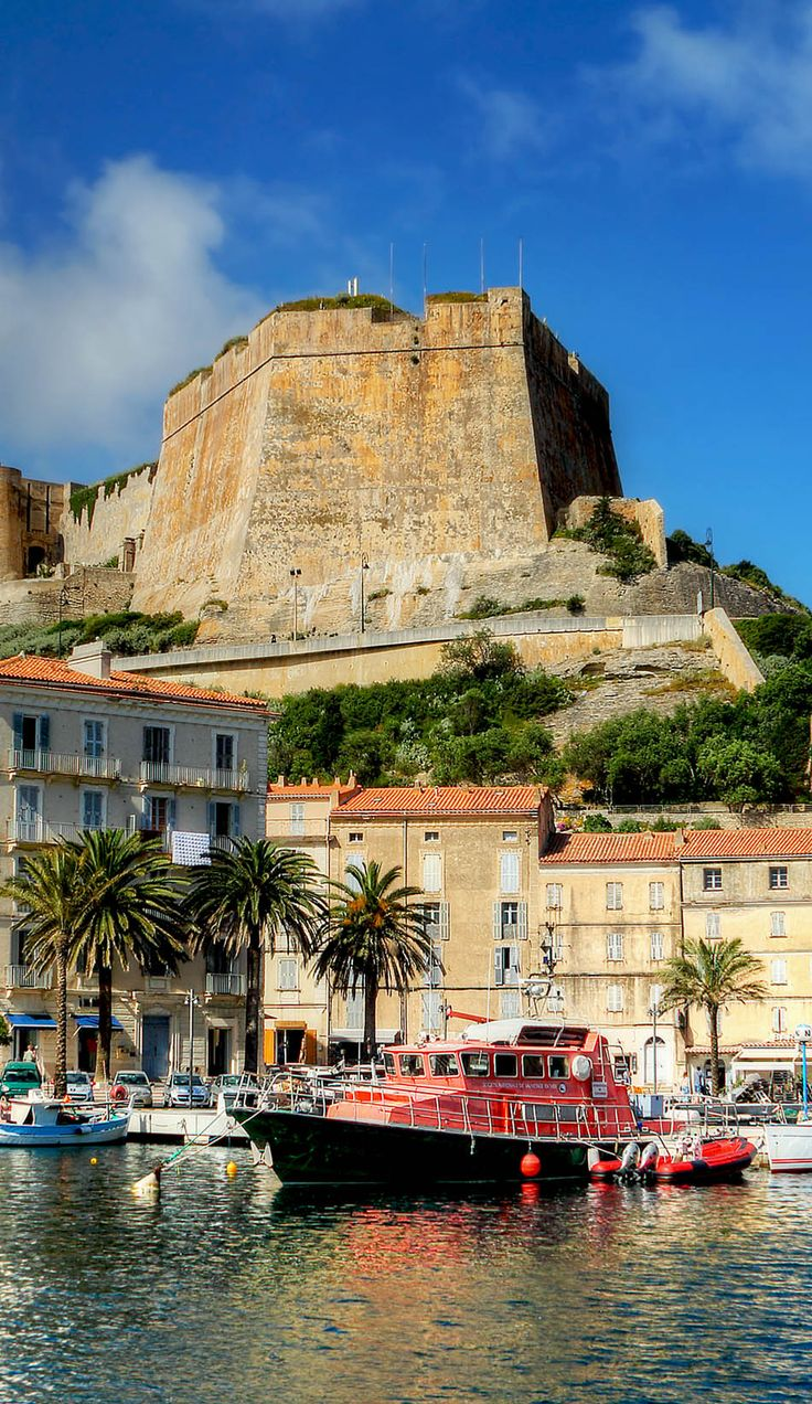 The Port de Plaisance of Bonifacio, Corsica, France   17 Reasons why Magnifique France is the most Visited Country in the World