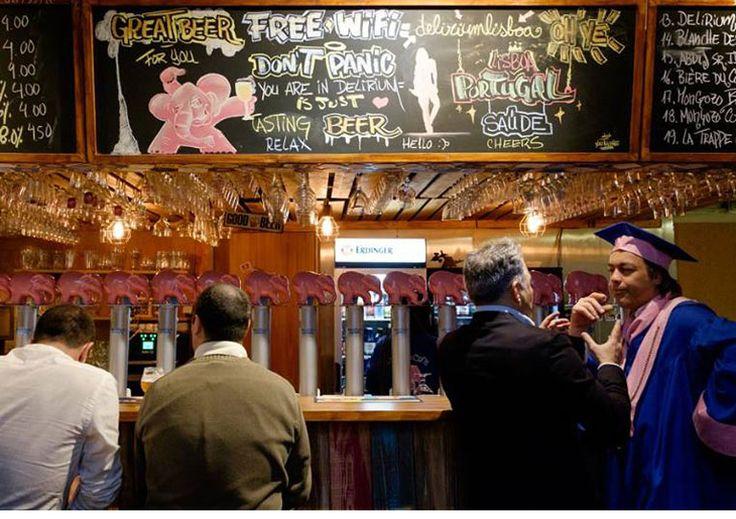 Se havia dúvida de que o movimento de cerveja artesanal em Portugal veio para ficar, agora não há mais. Abriu a filial portuguesa do Delirium Café em Lisboa