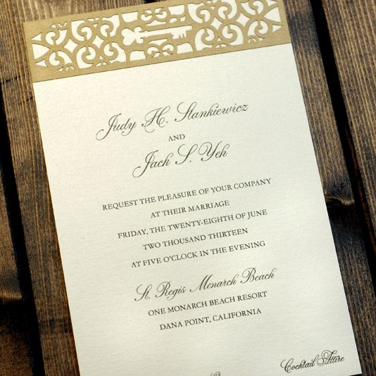 171 Best Images About Beautiful Wedding Invitations On