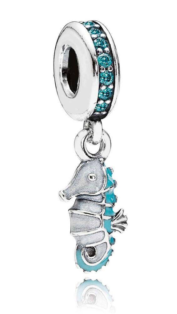 Bijoux Pandora, Charm Pendentif Hippocampe 791311MCZ