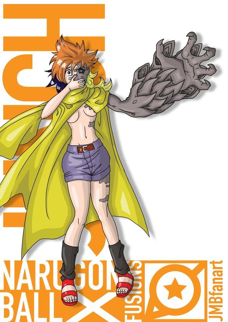 Junch Launch and Jugo fusion by JMBfanart Anime dragon