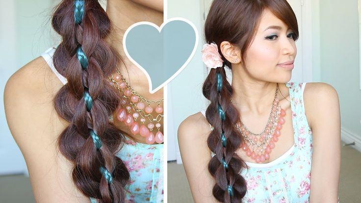 Intricate 5-Strand Braid Hair Tutorial Hairstyle