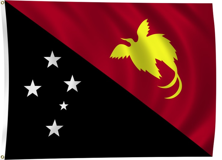 ... praising God and rejoicing to be, Papua New Guinea