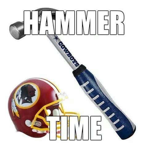 Dallas Cowboys vs Redskins