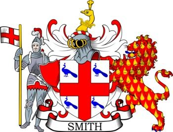 Smith Family Crest and Coat of Arms