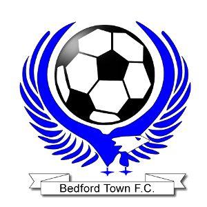 1989, Bedford Town F.C. (England) #BedfordTownFC #England #UnitedKingdom (L16594)