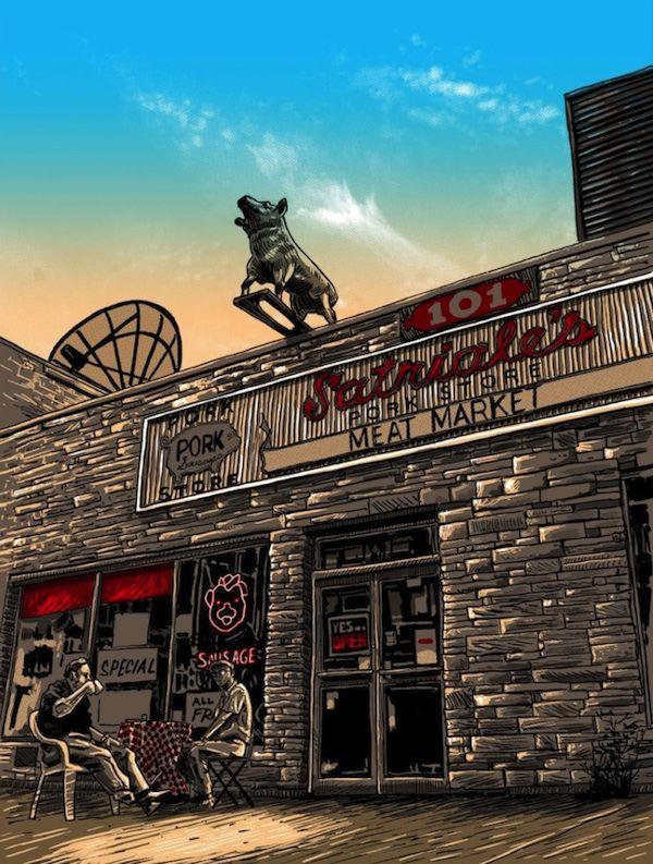 The Sopranos - Satriale's Pork Store