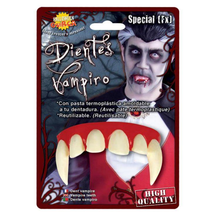 Dientes Vampiro Profesionales #dentadurasdisfraz  #accesoriosdisfraz #accesoriosphotocall