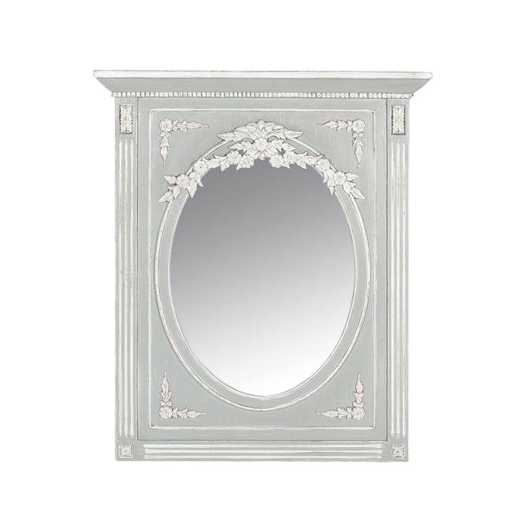 Les 25 meilleures id es de la cat gorie miroir trumeau sur for Miroir trumeau blanc