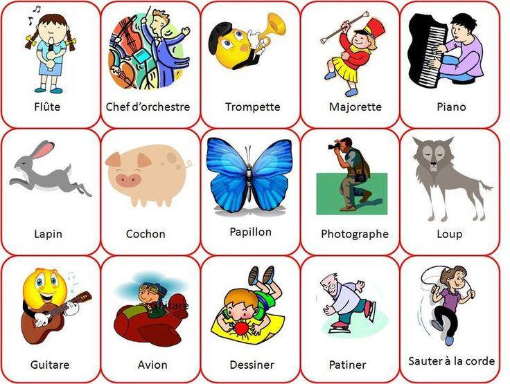 18 best images about jeu de mime on pinterest - Devine tete a imprimer ...